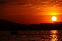 Zapad slunce ve Svycarsku