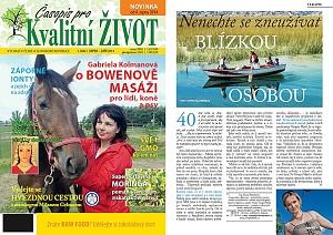 Titulní strana a článek