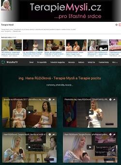 Videokanál Terapie Mysli a Mozaika TV