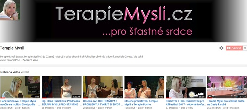 videokanál Terapie Mysli