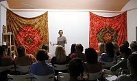 přednáška v Šamance